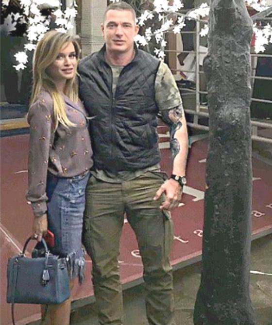 Бородина с супругом на церемонии премии MODA Topical